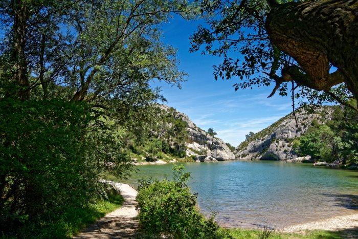 Lac de Peiroou Saint-Rémy-de-Provence