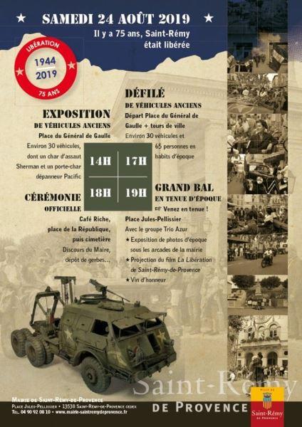 75e anniversaire de la libération