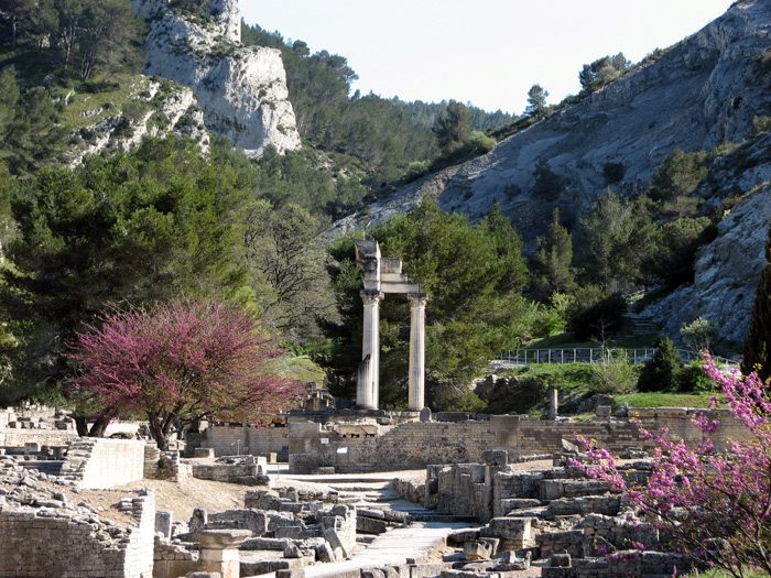 site arch ologique de glanum saint r my de provence. Black Bedroom Furniture Sets. Home Design Ideas