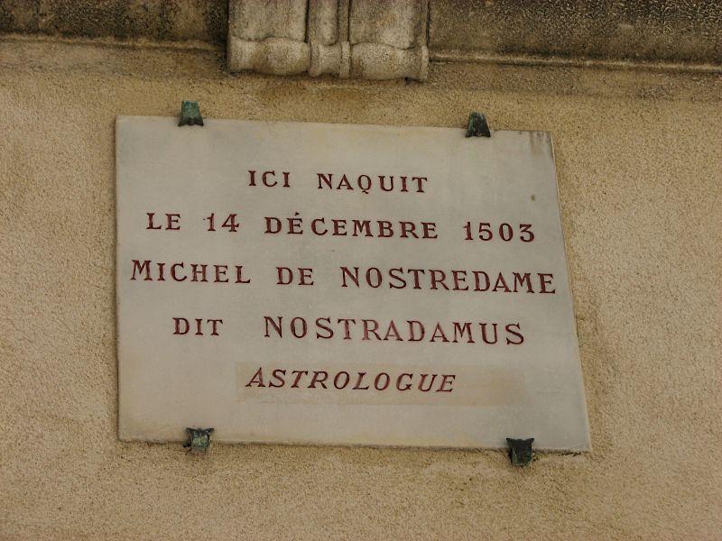 Nostradamus saint r my de provence - Salon saint jacques neuville saint remy ...