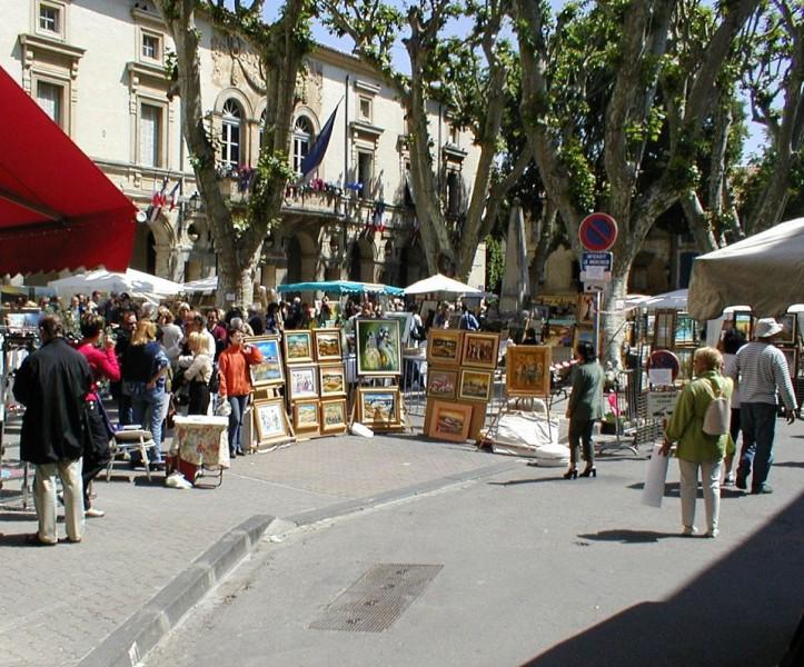 Marché des créateurs Saint Rémy de Provence