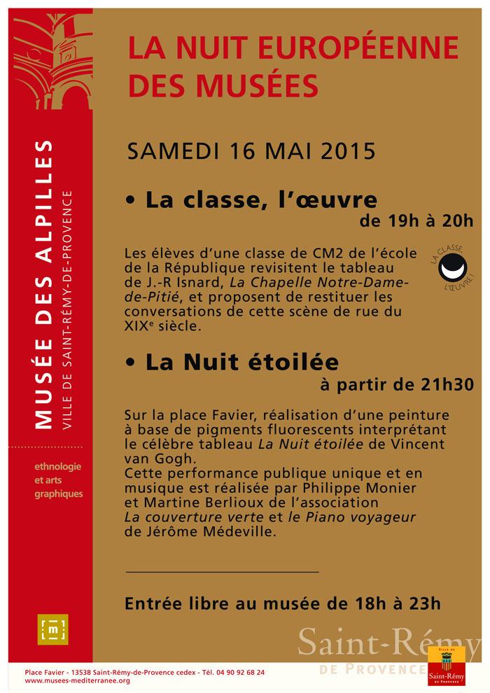 Nuit des Musées Saint-Rémy-de-Provence