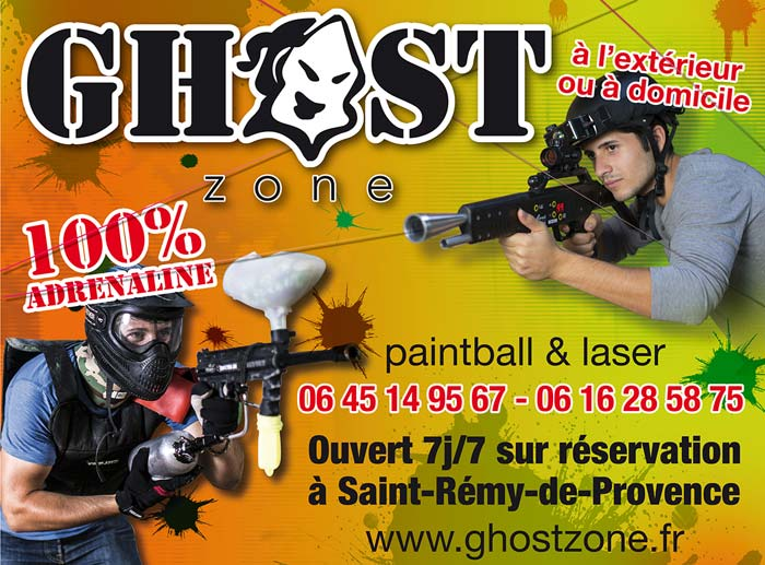 Paintball Laser Game avec GhostZone