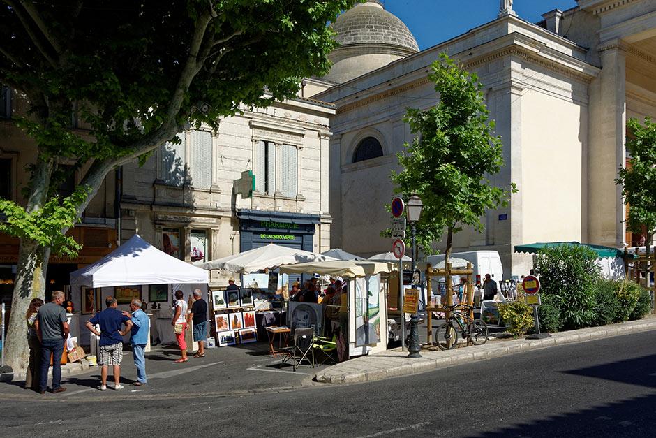 Route des peintres for Entretien jardin st remy de provence